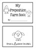 Preposition Farm Book ~ Read And Draw