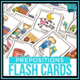 Preposition Flash Cards