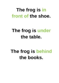 Preposition - Flashcards