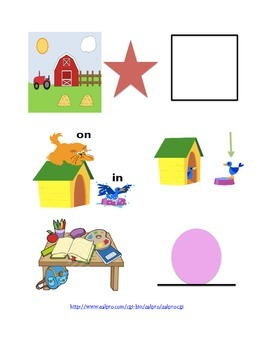 Preposition Flashcards
