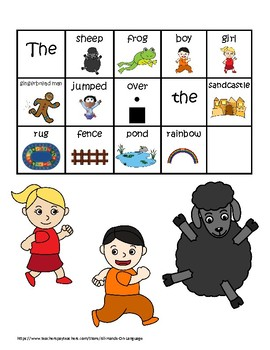 Preposition Fun! OVER Interactive Book Activity, Autism, Speech and Language