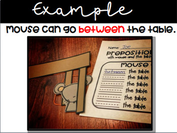 Preposition Fun with Mouse and Squirrel