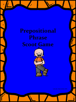 Preposition Identification Scoot Game