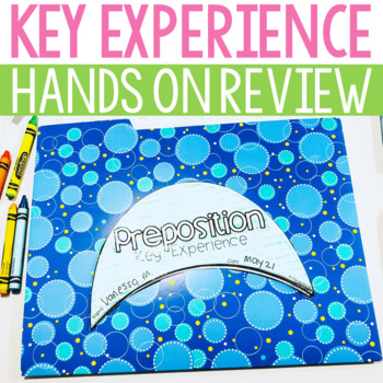 Preposition Key Experience Extension Booklet