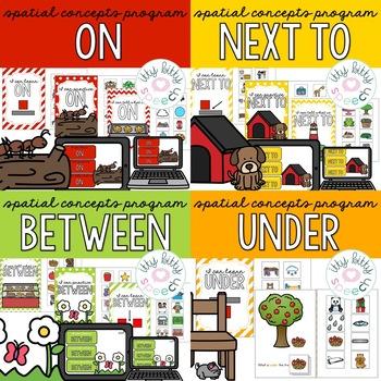 Spatial Concepts/Preposition Kit Bundle