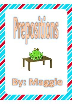 Preposition Listening Activities