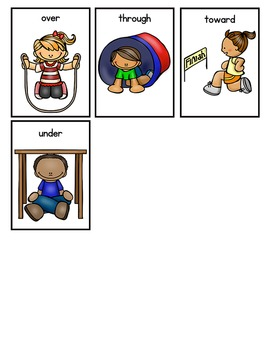 Preposition Memory Game