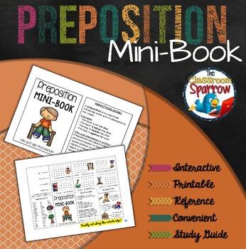Preposition Mini-Book