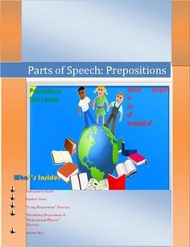 Preposition Mini Lesson