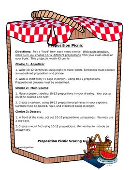 Preposition Picnic