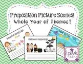 Preposition Picture Scenes