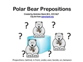 Winter Polar Bear Preposition Book