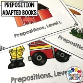 Prepositions Speech Therapy |  Adapted Books for Special Education