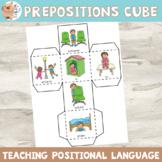 Preposition / Positional Language Cube