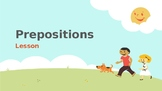 Preposition Power Point Lesson