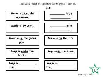 Preposition Practice: On, In, Under, By