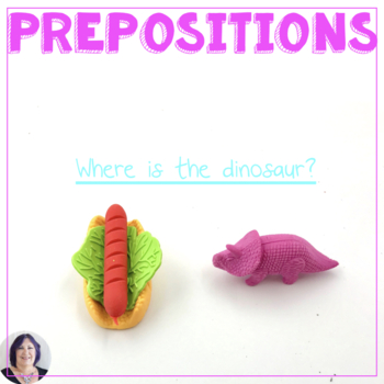 Preposition Practice for Speech Language Therapy