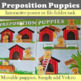 Preposition Puppies Make & Take Poster