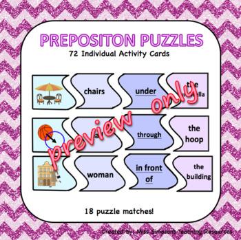 Preposition Puzzles