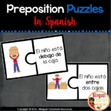 Preposition Puzzles In Spanish