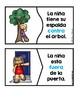 Preposition Puzzles in Spanish (Rompecabezas de preposiciones)