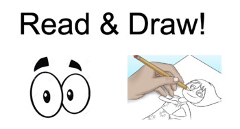 Preposition: Read & Draw!