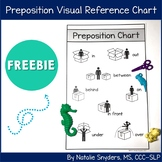 Preposition Reference Chart for SLPs