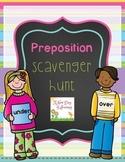 Preposition Scavenger Hunt