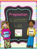 Preposition Scavenger Hunt