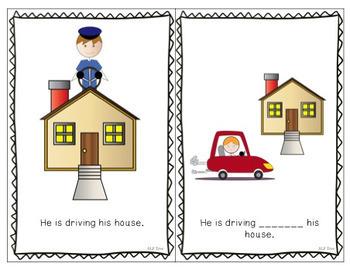 Preposition Silly Sentences Bundle