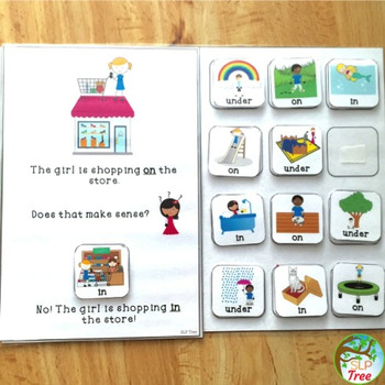 Preposition Silly Sentences: In, On, Under
