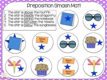 Preposition Smash Mats