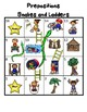 Preposition Snake and Ladders