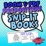 Preposition Snip-It Books (Winter)