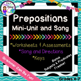 Prepositions Mini-Unit