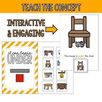 Preposition Starter Kit - Under