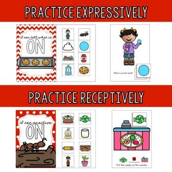 Preposition Starter Kit - ON
