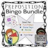 Preposition / Subordinating Conjunction BINGO - DIGITAL/PRINT BUNDLE