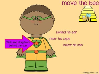 Preposition Superhero