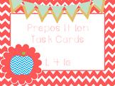 Preposition Task Cards L.4.1e