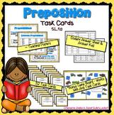 Preposition Task Cards L.5.1.a