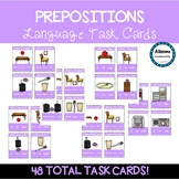 Preposition Task Cards (sped/autism)
