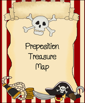 Preposition Treasure Map