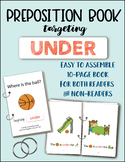 UNDER (a preposition book) - Speech/Language Therapy