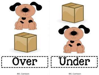 Preposition Vocabulary Cards