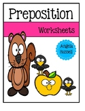 Preposition Worksheets