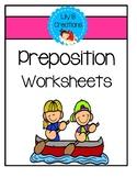 Preposition Worksheets Set 3