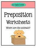 Preposition Worksheets Set 2