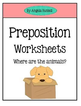 Preposition Worksheets | Teachers Pay Teachers
