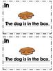 Preposition Writing Booklet {with Vocabulary Card Bonus!}